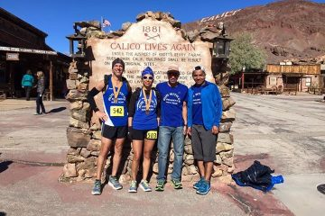 Run With Us @ Calico Trail 50K