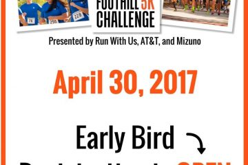 Foothill 5K Challenge Early Bird Registration OPEN!