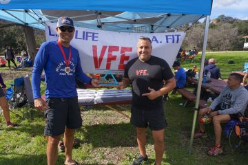 Jerry places in the Sean O'Brien 50K Trail Race!