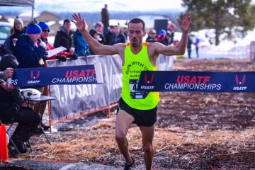 Sallberg took 1st at USATF Master's National 8k Cross Country Championships | Feb 4