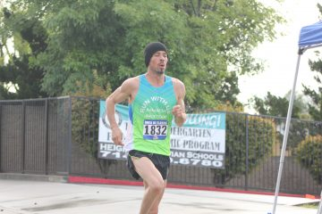 Sallberg takes 1st at the Burbank All Comers 5k