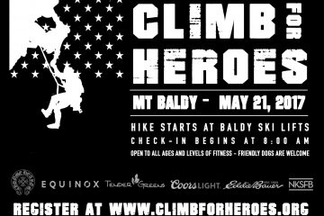 Climb for Heroes | May 21st