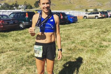 Carla did great in the SLO Half Marathon!