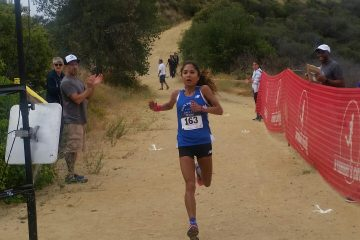 Moreno placed in her first Trail Race!