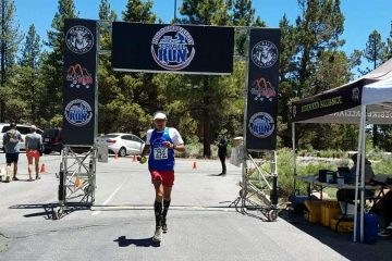 Pacheco took 1st at the Holcomb Valley Trail Race | June 11