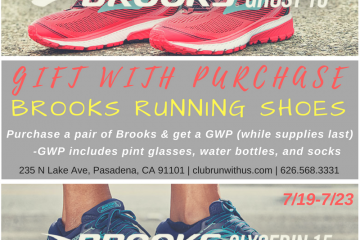 Gift With Purchase 7/19-7/23 – BROOKS !