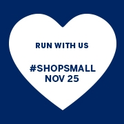 Support Run With Us on 11/25 – Shop Small Business Saturday!