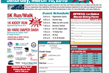 #LaHabraRaces 5K, 1K Kiddy Run, 50-Yrd Diaper Dash (Coupon Included)