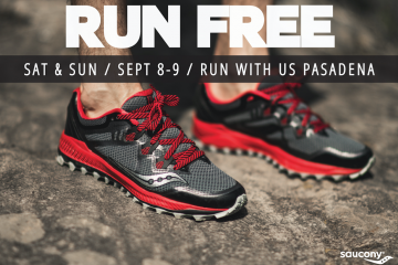 RUN FREE by Saucony – Sept 8-9