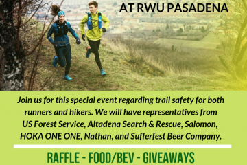 Trail Safety Clinic this Friday 5/24!