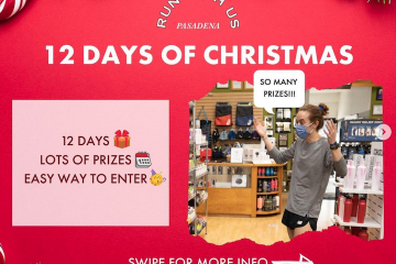 12 Days of Christmas – Day 1 Giveaway!