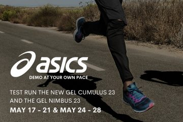 ASICS Demo At Your Own Pace – RSVP Here