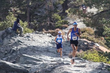 Eder Takes 3rd in Mt Baldy Race!